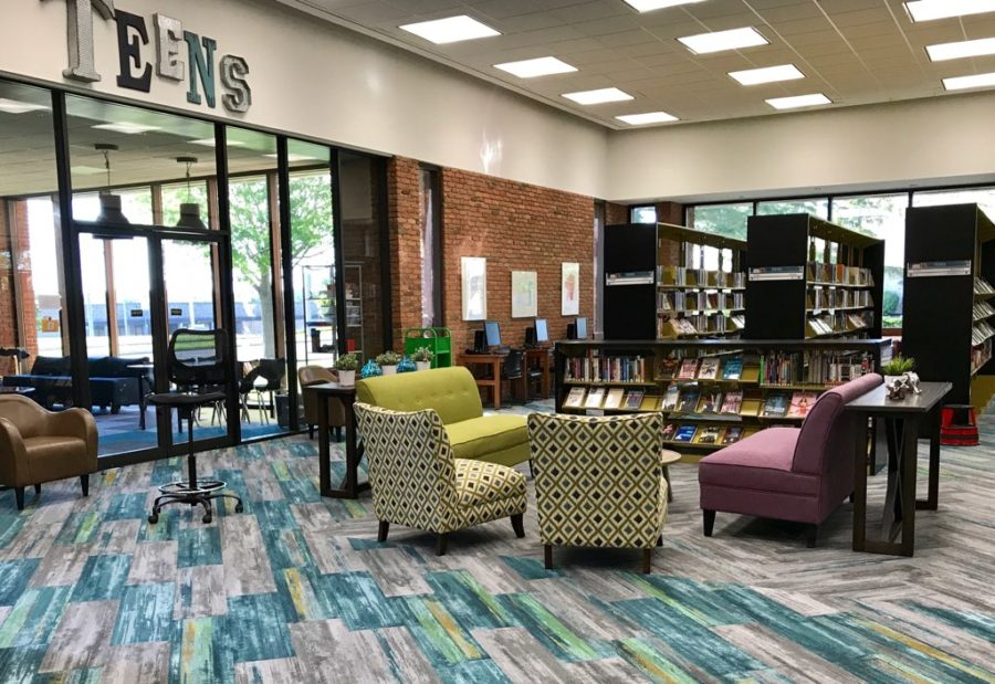 Morrisson-Reeves Library Teen Space
