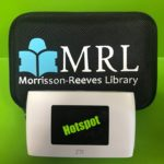 Hotspot to check out from library