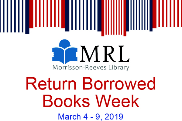 Return Borrowed Books Week