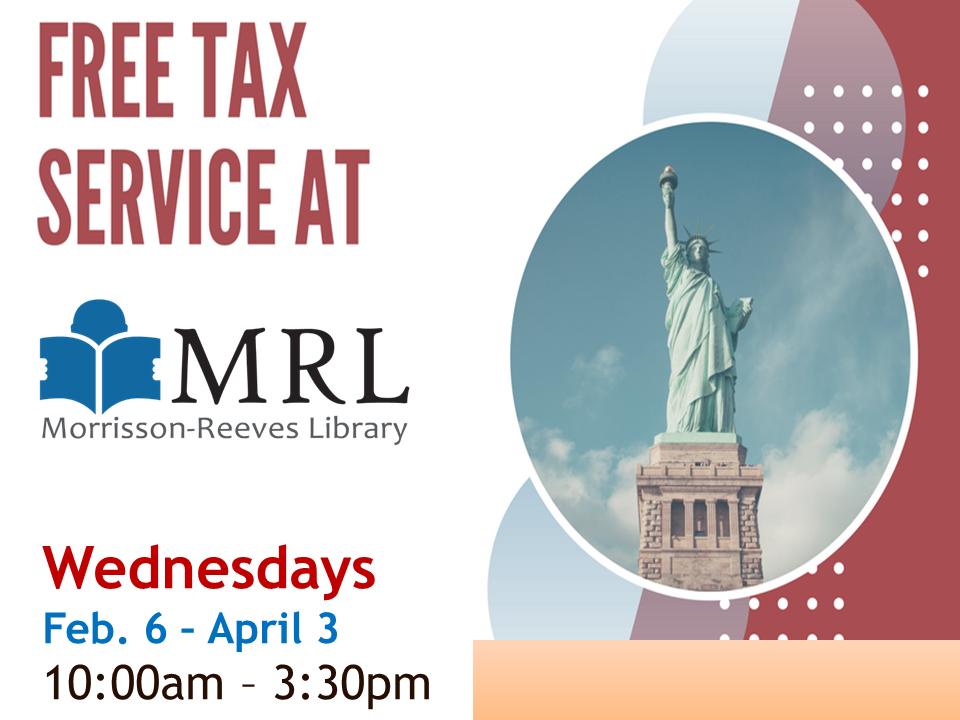 Free Tax Service at MRL