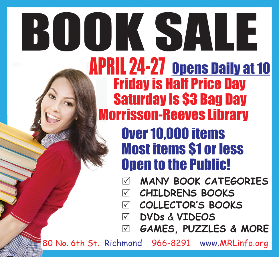 April 2019 Book Sale