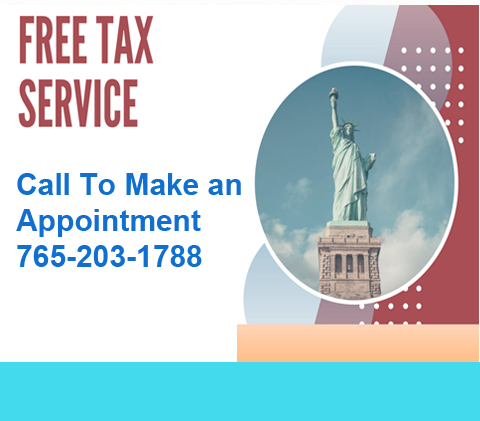 Call 765-203-1788 for a tax appointment