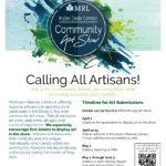 Art Show at MRL informational Flyer
